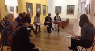 ATESOL ACT teachers at Portrait Gallery