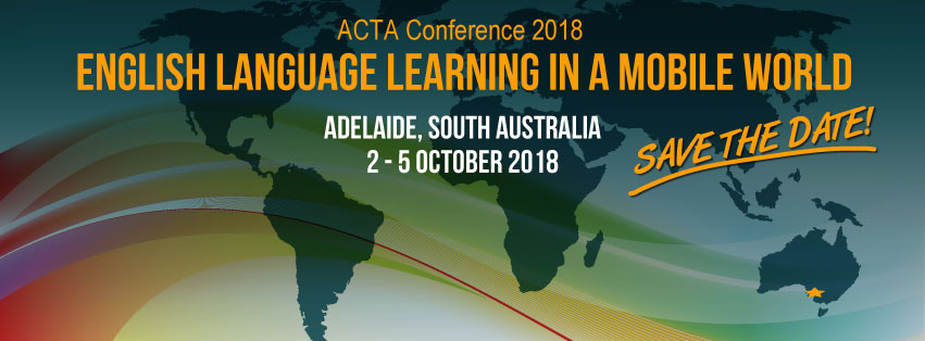 ACTA Conference 2018 banner